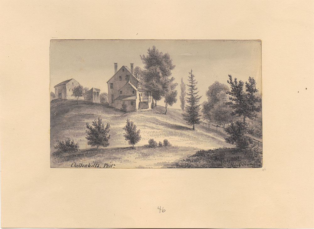 Cheltenhills, Philadelphia (View of a Home)