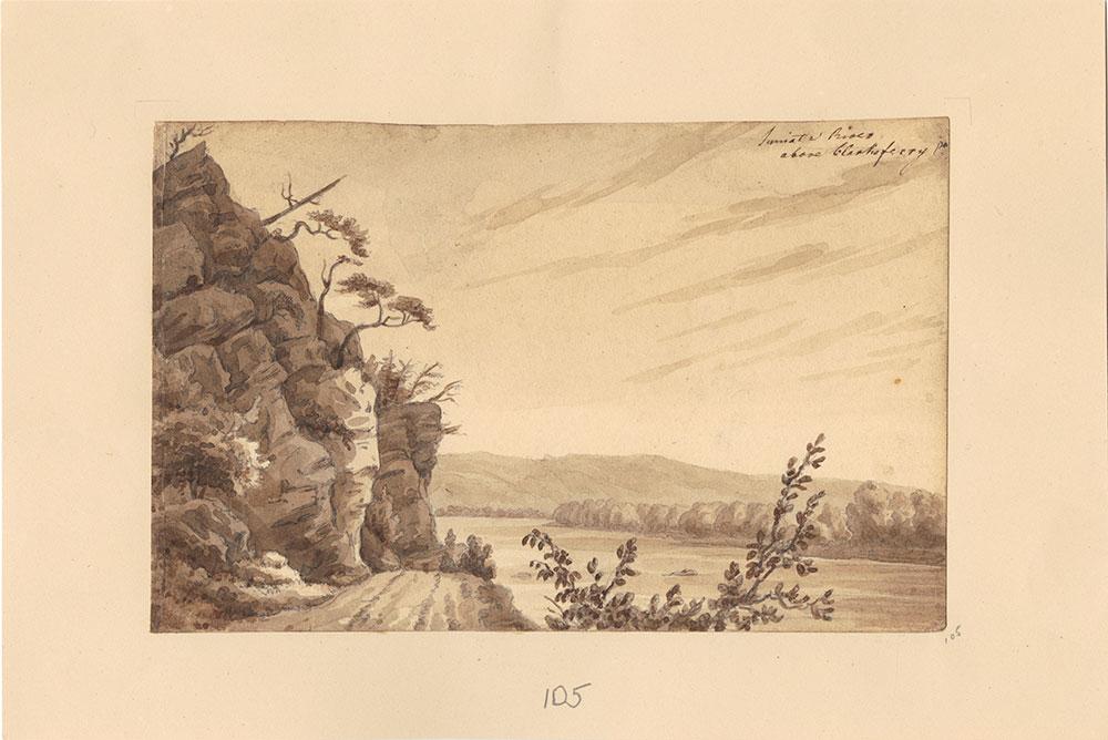 Juniata River, above Clarks Ferry, Pennsylvania