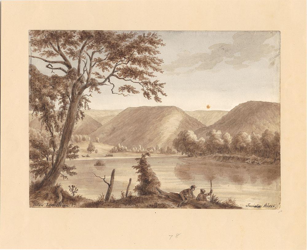 Below Lewistown, Pa, Juniata River
