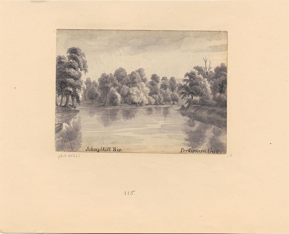 Schuylkill River Perikiomen Creek