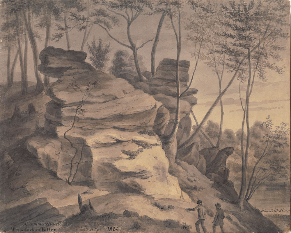 At commencement of Wissahickon Valley, Schuylkill River