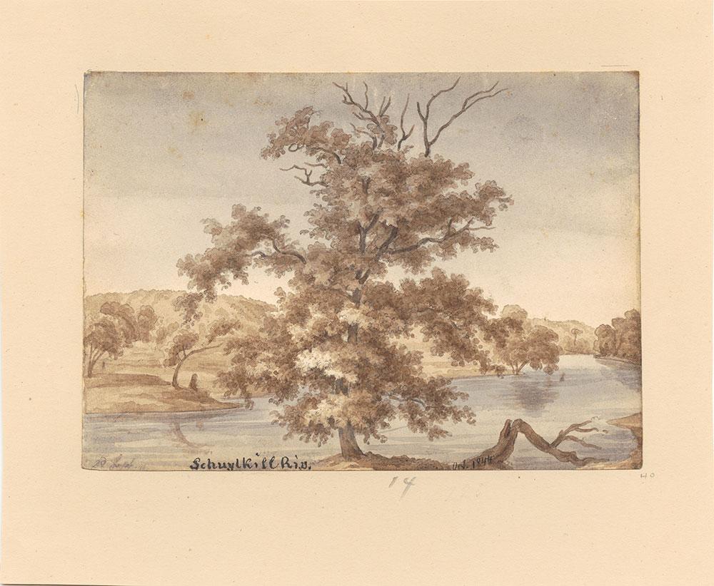 Schuylkill River October 1844