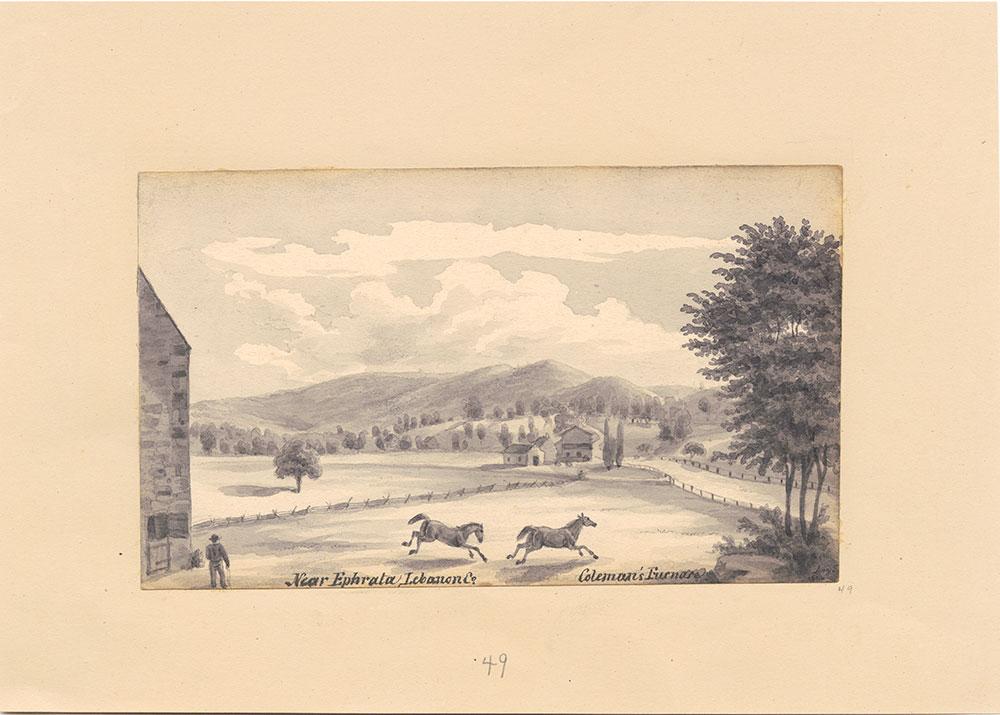Near Ephrata Lebanon Co., Coleman's Furnace