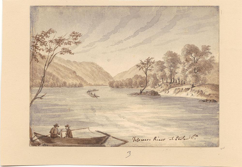 Delaware River at Easton Pa