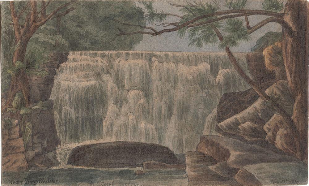 Mill Creek West Branch [Near Bryn Mawr]