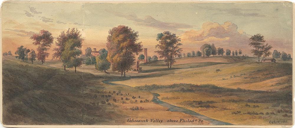 Cohocsink Valley, Above Philadelphia Pa