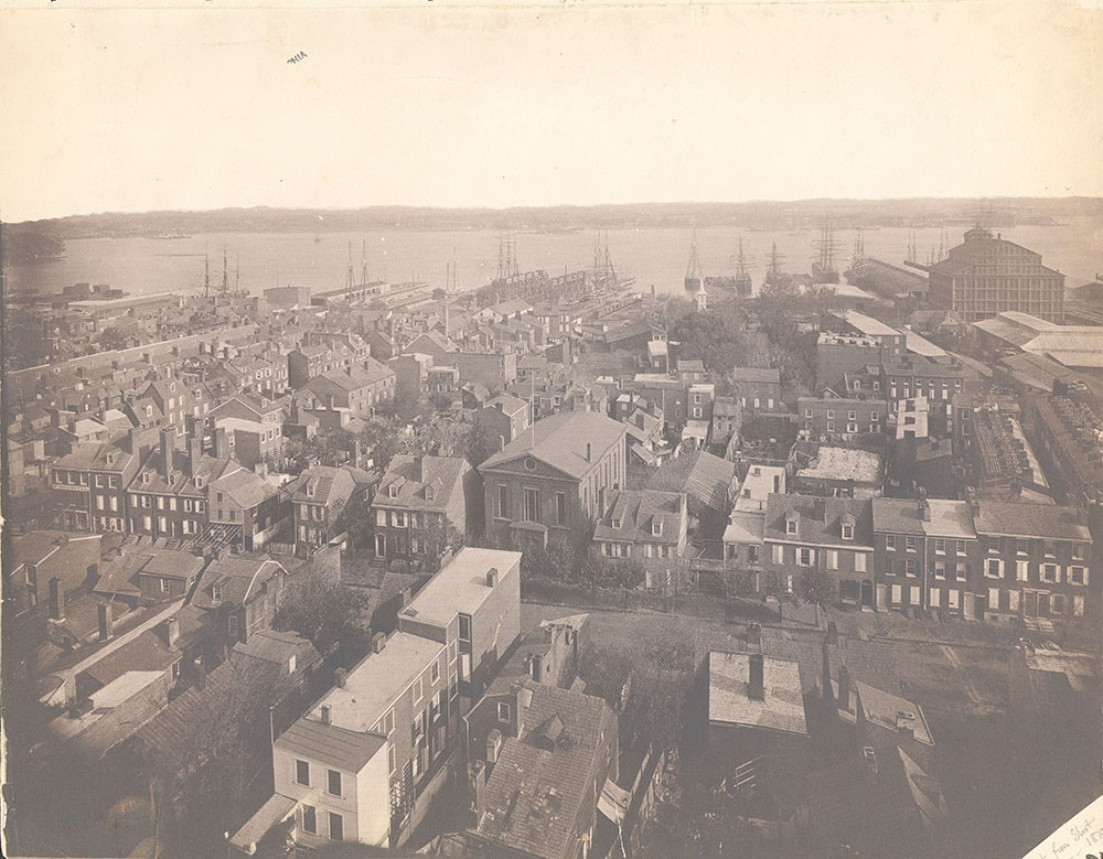Panorama of Philadelphia, east view