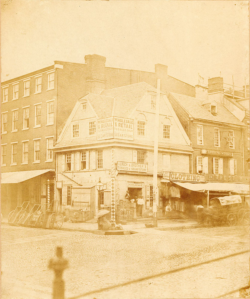 London Coffee House, Front Street at Market