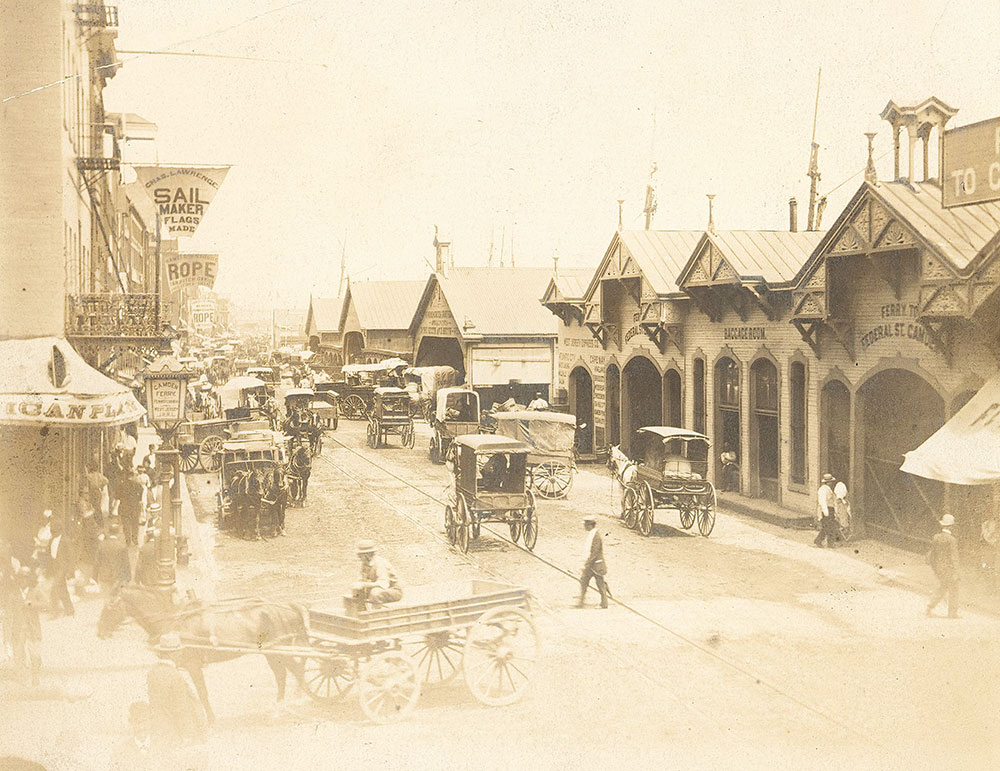 Delaware Avenue, north from Market Street
