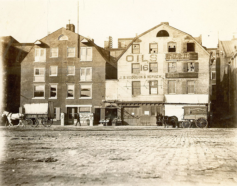 Warehouses, 14-20 South Delaware Avenue