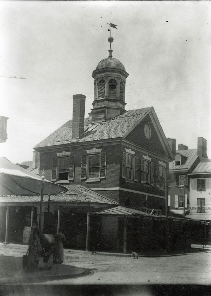 Market House, 2nd Street at Pine