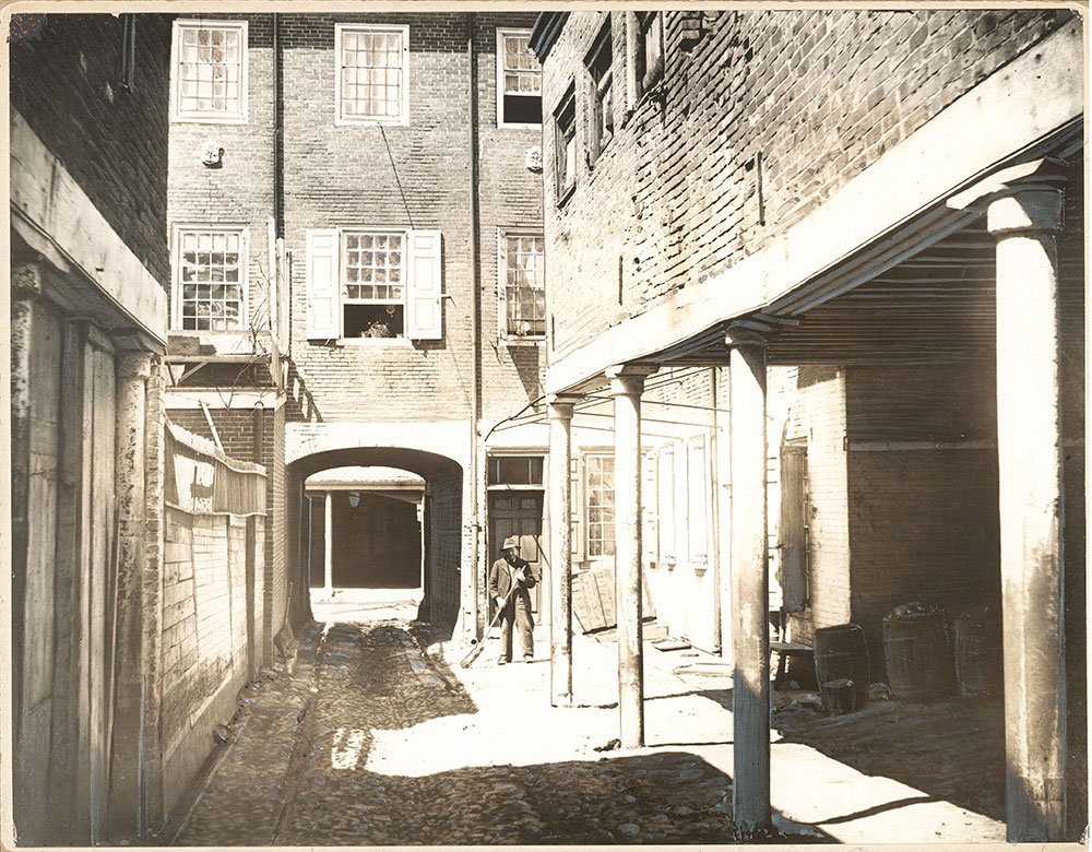 Old Plough Tavern, 2nd Street at Pine