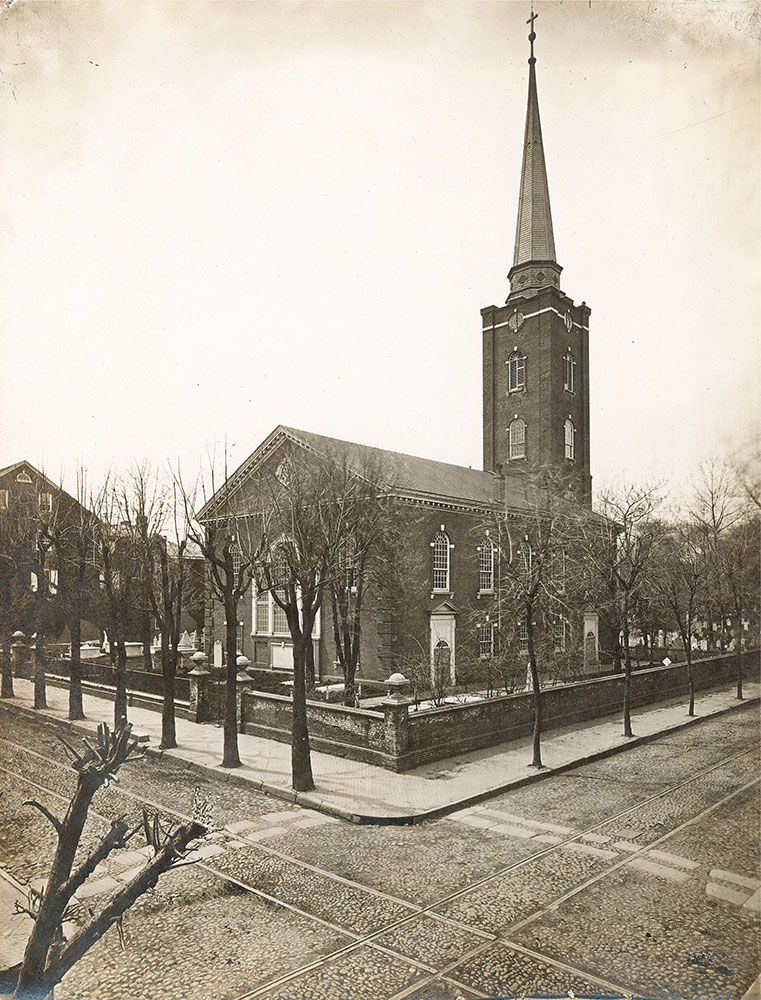 St. Peter's Church, Pine Street at 3rd