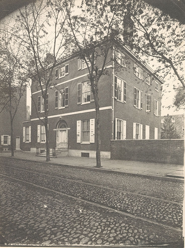 Physick residence, 4th Street at Delancey