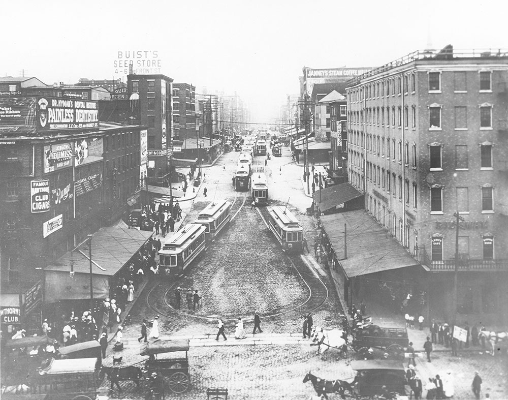 Market Street at Delaware Avenue