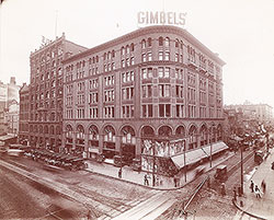 Gimbel Brothers, Market Street at 9th, Southeast... icon image