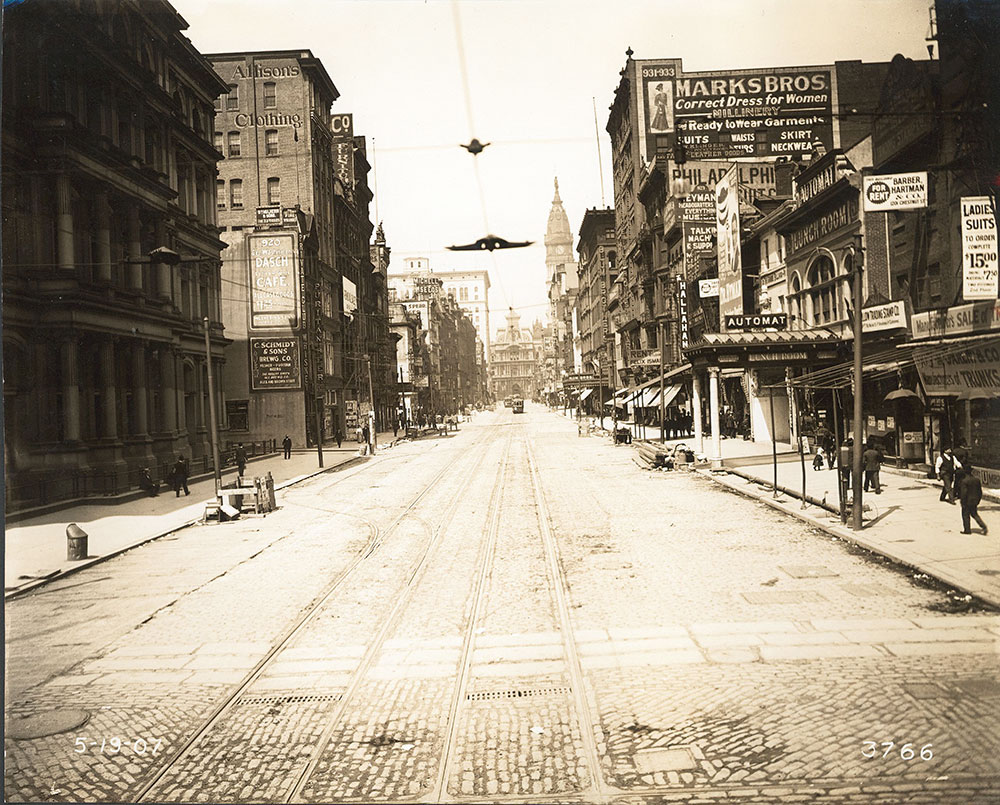 Market Street, west from 9th