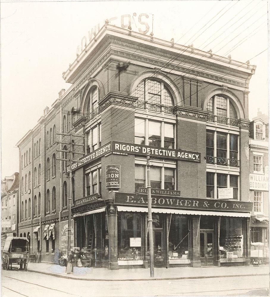 Market Street at 13th, northeast corner