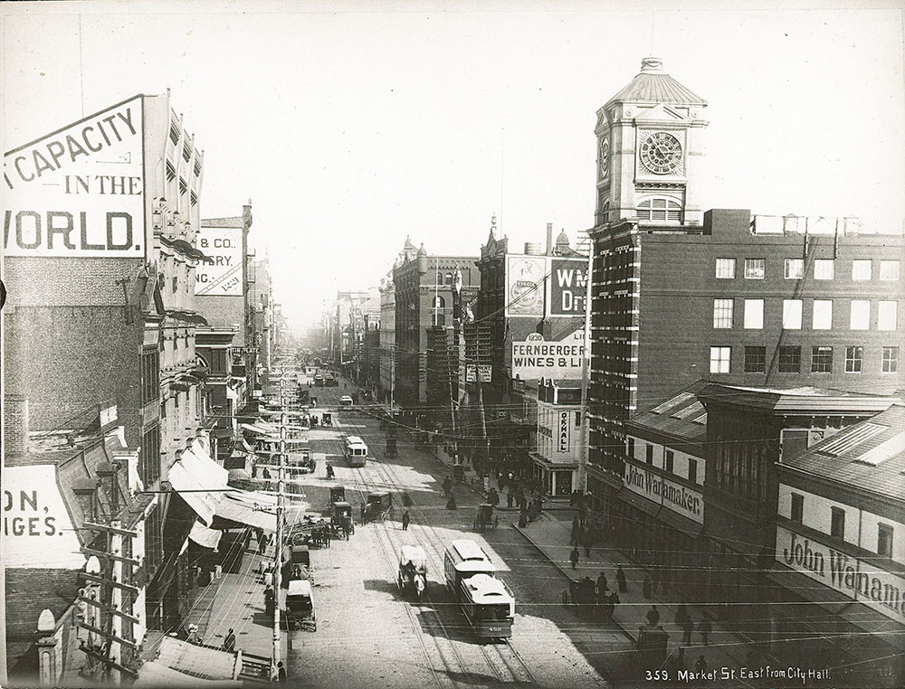 Market Street, east from City Hall