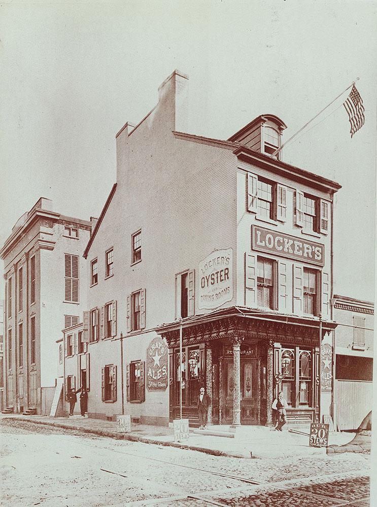 Locker's Restaurant, 8th and Vine Streets