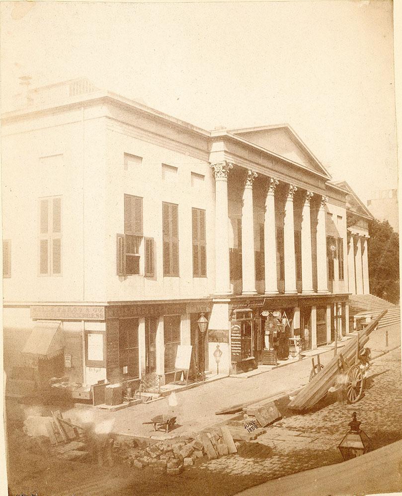 Philadelphia Bank, Chestnut Street at 4th