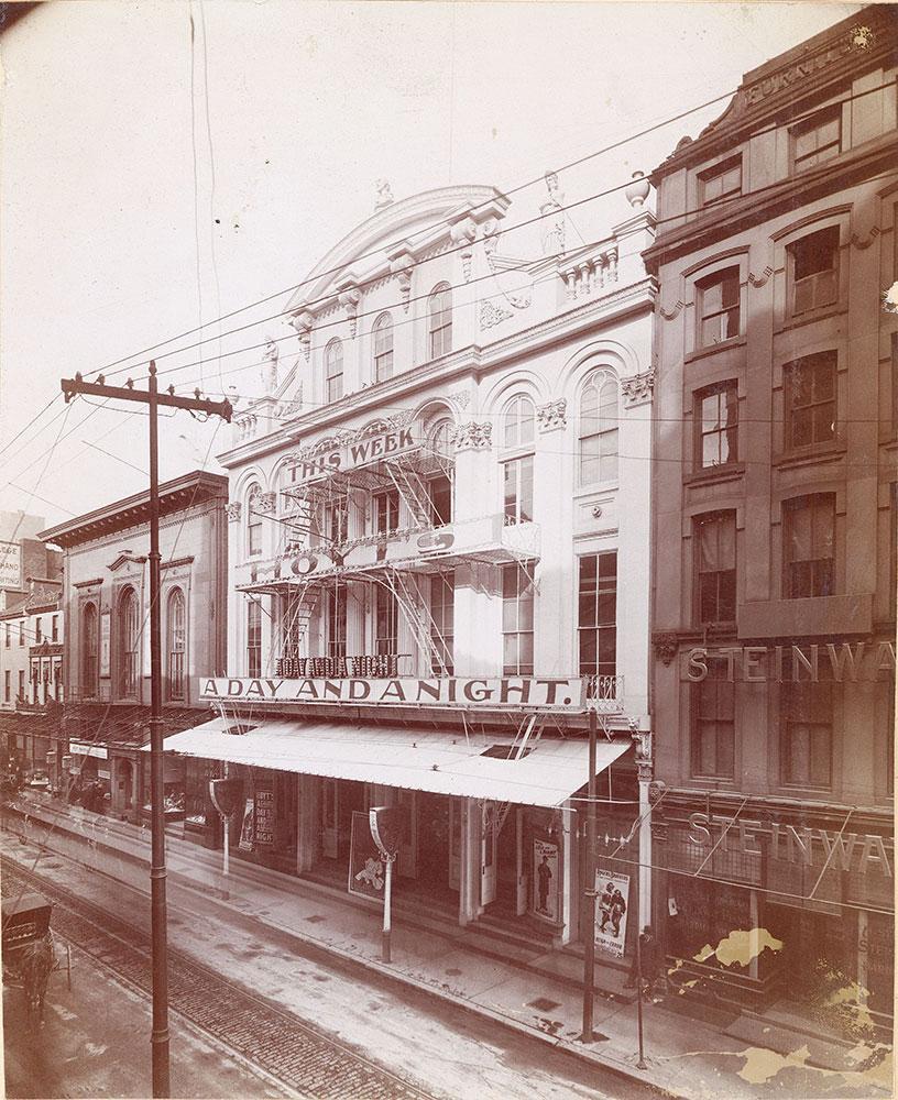 Third Chestnut Street Theatre, 1211 Chestnut Street