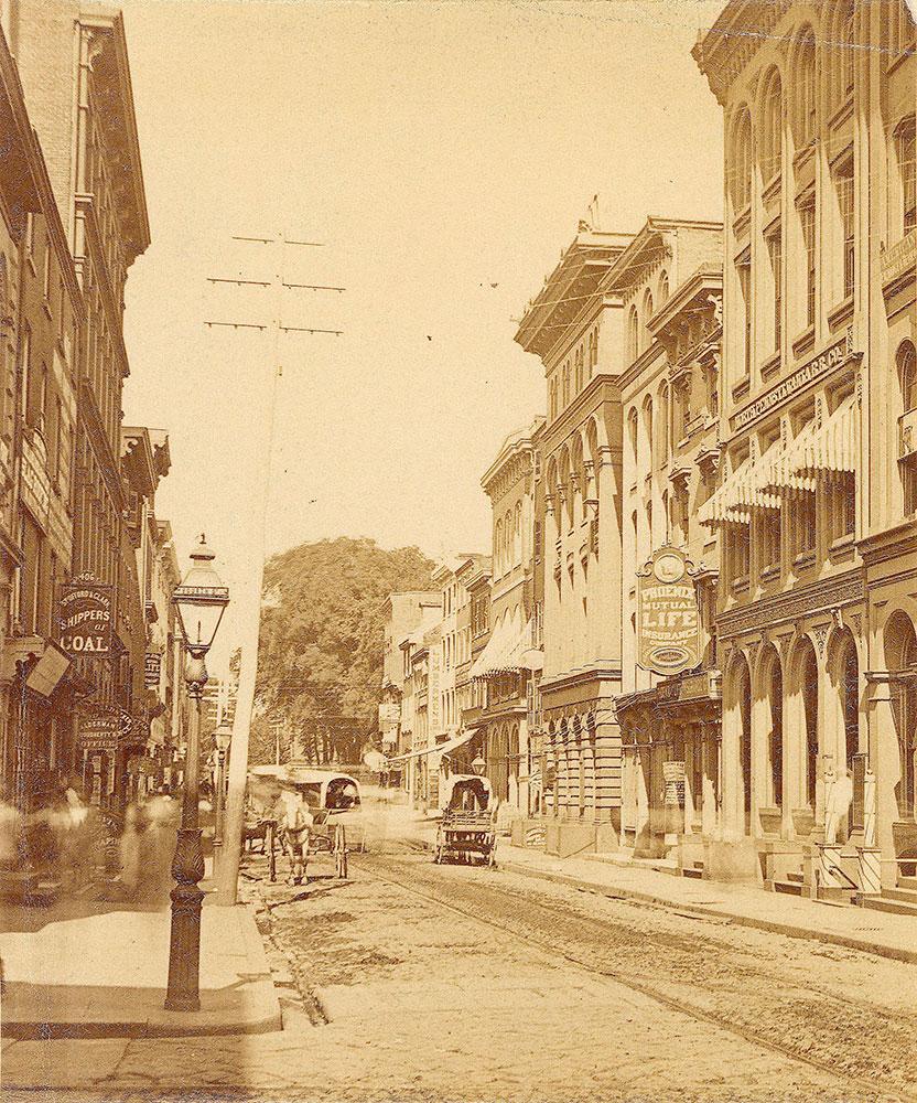 Walnut Street, west from 4th