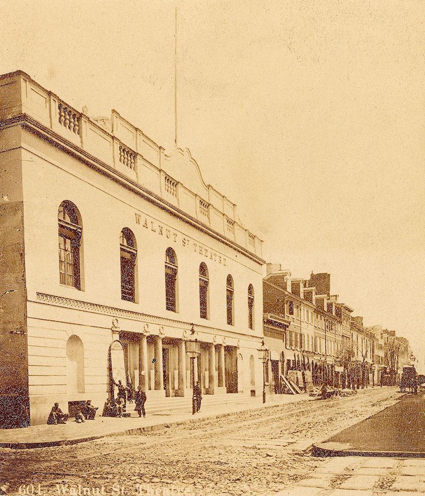 Walnut Street Theatre, 827-833 Walnut Street