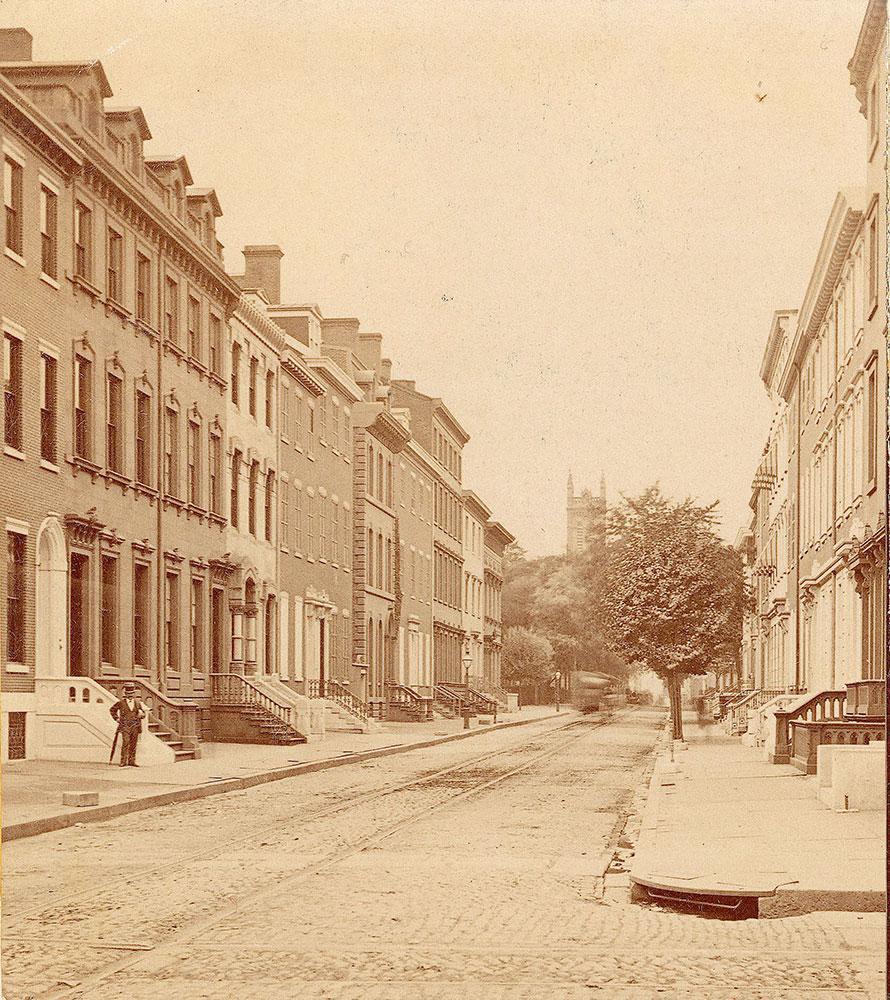 Walnut Street, west from 17th