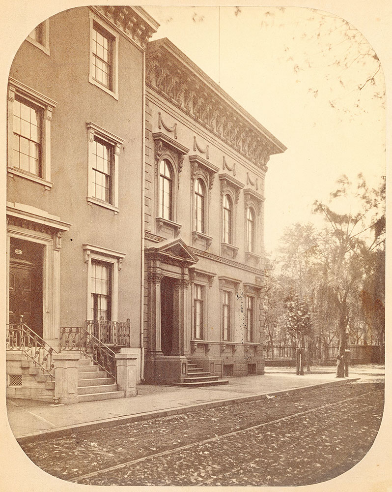 Weightman Mansion, 18th Street at Rittenhouse Square