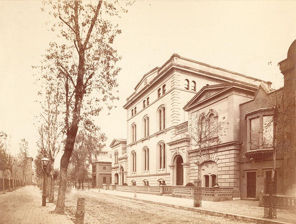 Joseph Harrison residence, 227 South 18th, East Rittenhouse Square