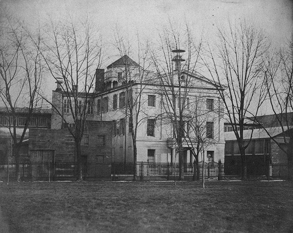 Central High School for Boys, Juniper Street at Center Square
