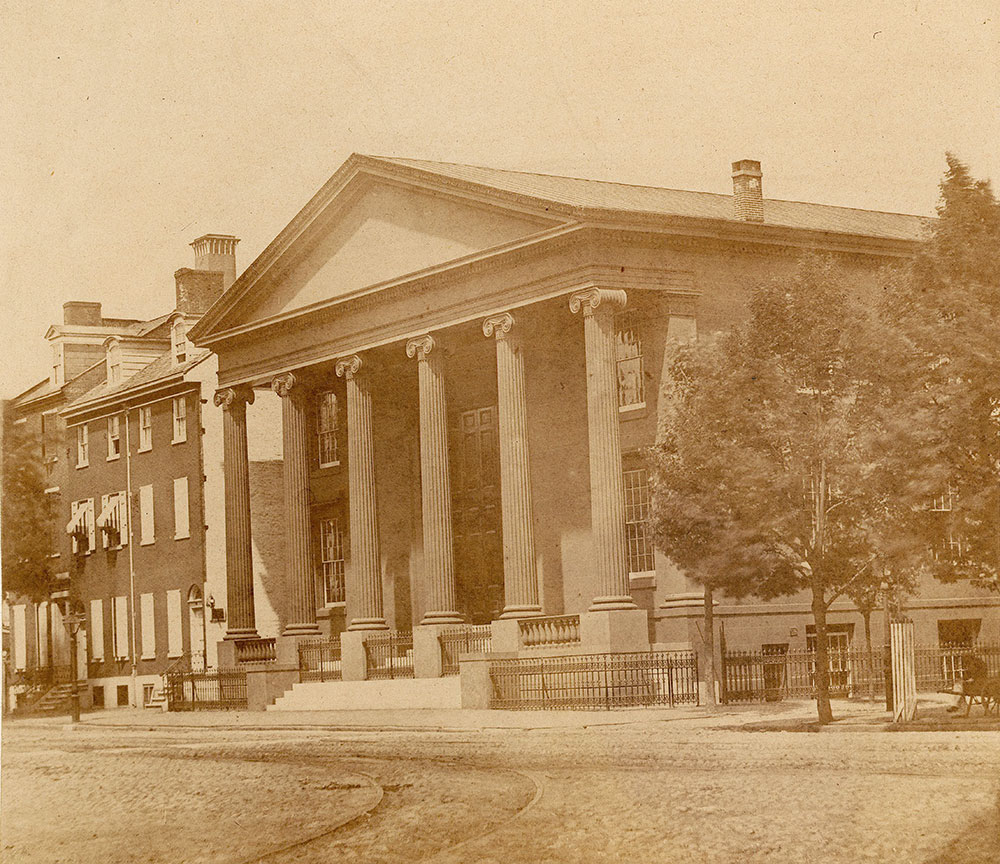 First Independent Presbyterian Church (Chambers' Church), Broad and Sansom Streets