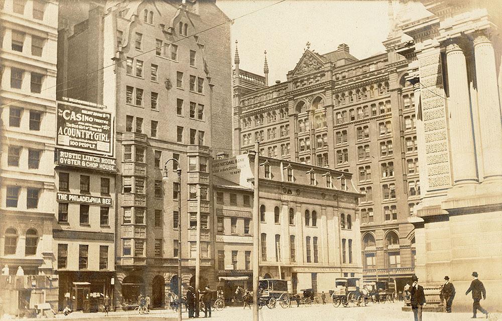 Penn Square, west side