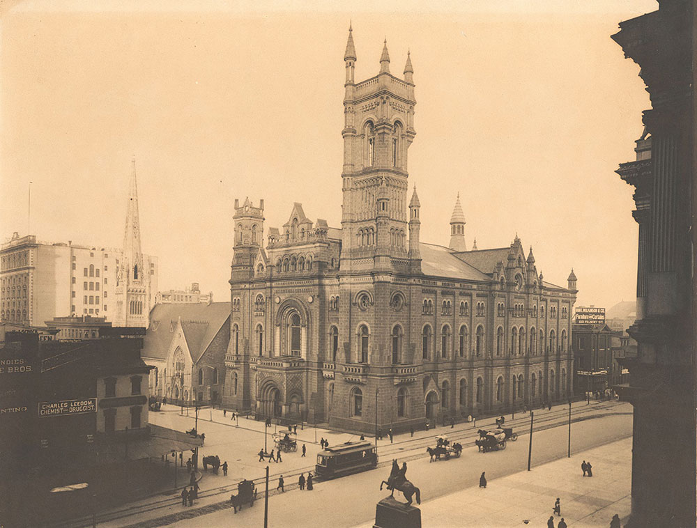 Masonic Temple, North Broad Street at Penn Square