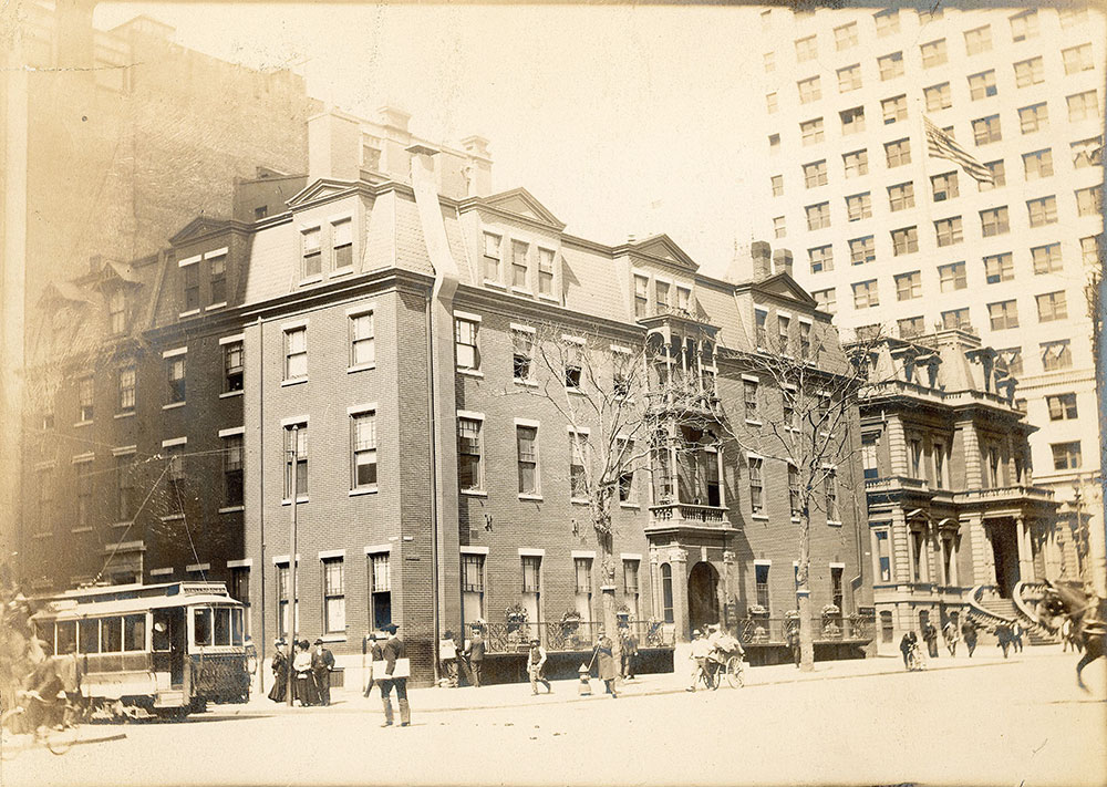Bellevue Hotel, Broad Street at Walnut, northwest corner