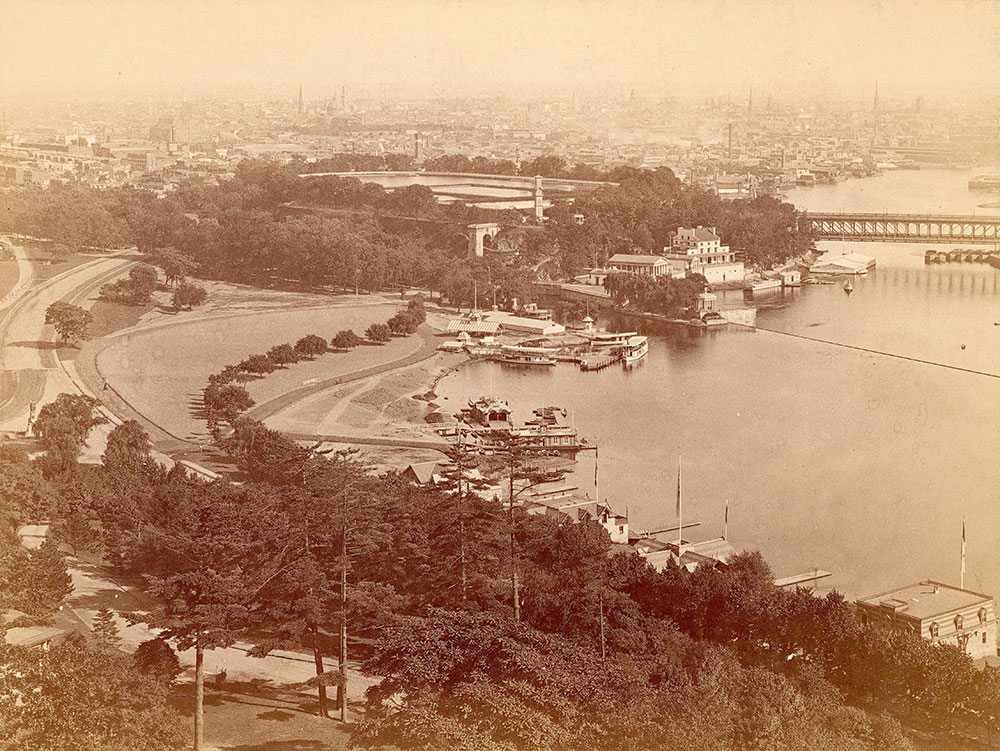 View from Lemon Hill, 1876