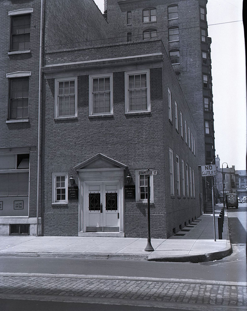 32 South 18th Street, at Ranstead