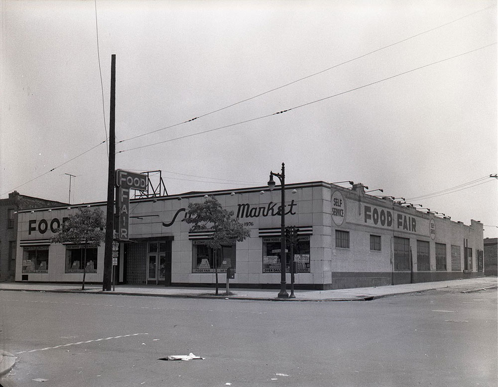 Hunting Park and 20th streets - Southeast Corner