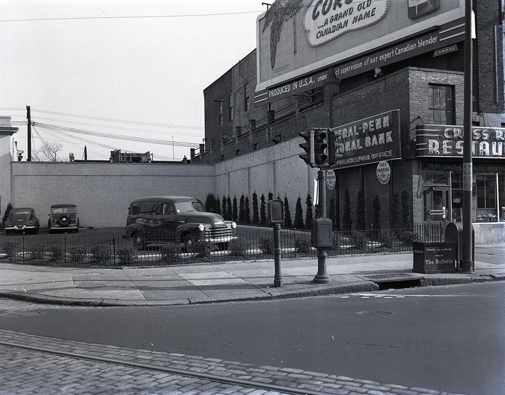 Broad & Cambria Streets, Southeast corner