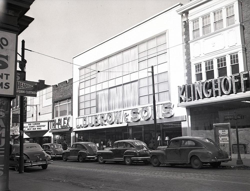 417-421 South Street, Rear Gaskill Street