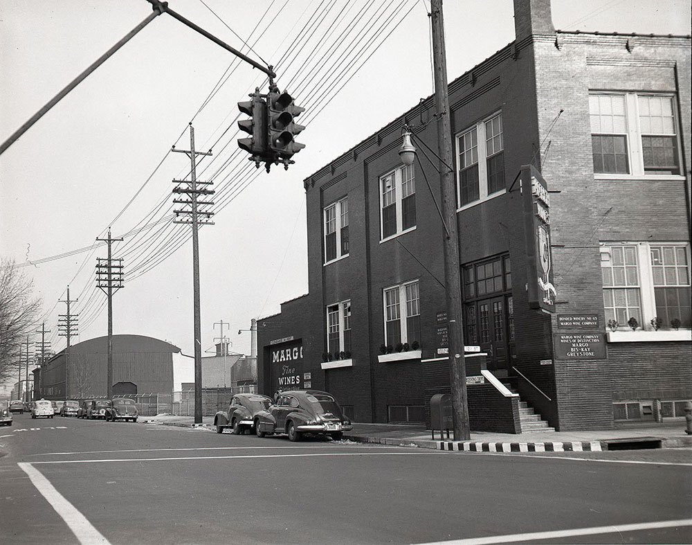Sedgley & 12th Streets, Southeast corner