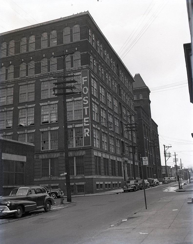 Westmoreland & Hancock Streets - Southwest corner