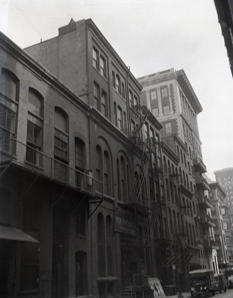 1012-1014 Chestnut Street - Rear