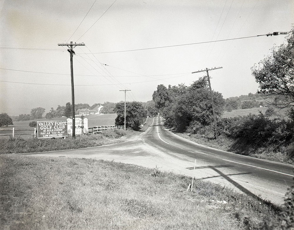 Route 23, Valley Forge, Chester County, PA