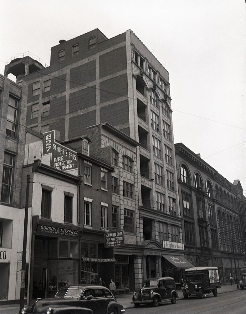 821-823 Arch Street - Front