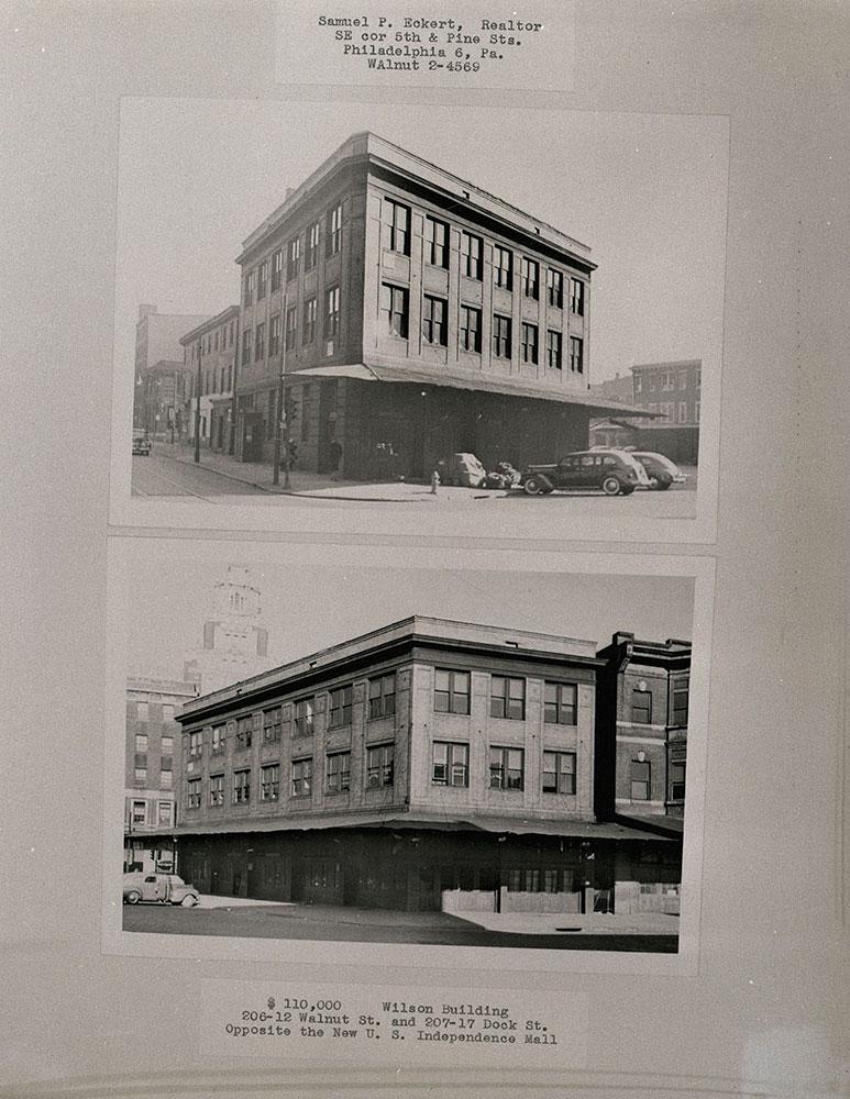 206-212 Walnut Street, 207-217 Dock Street