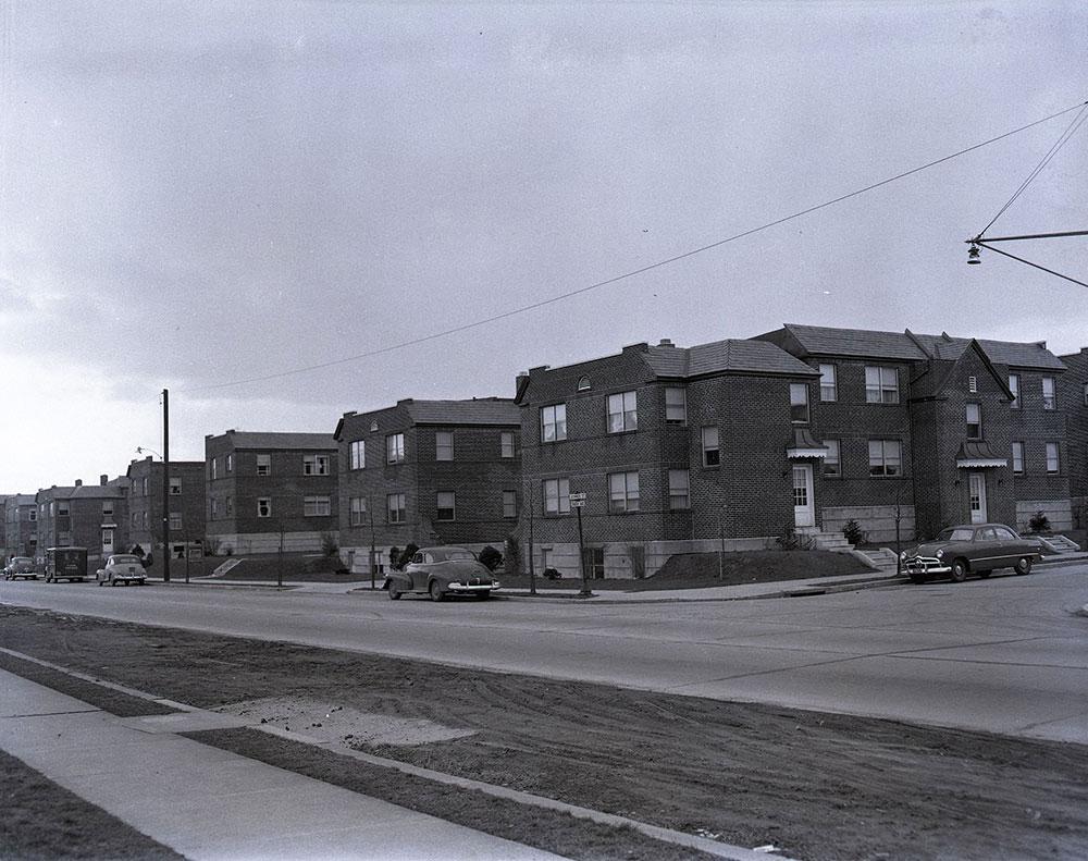 Tabor Ave & Benner St., Southwest corner