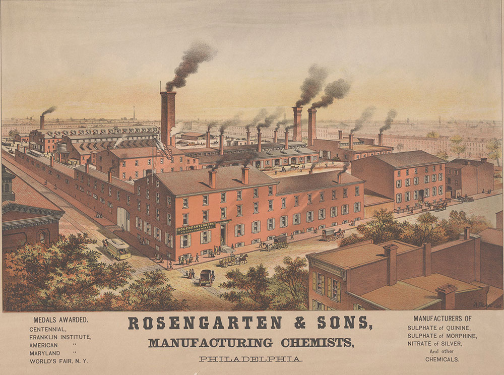 Rosengarten & Sons, Manufacturing Chemists, Philadelphia. [graphic]