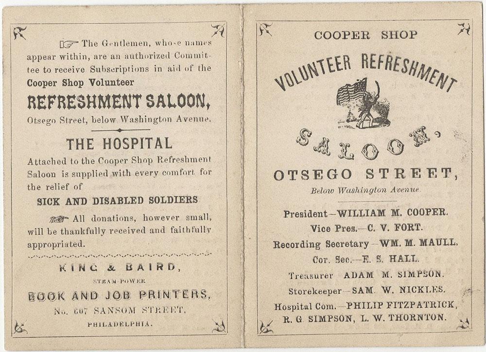 Cooper Shop Volunteer Refreshment Saloon